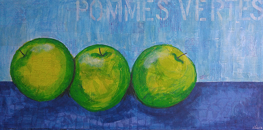 Little Green Apples by Pamela Towns