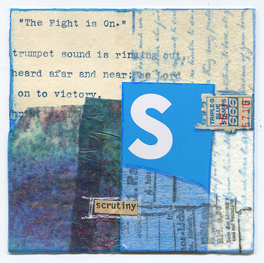 Scrutiny by Pamela Towns
