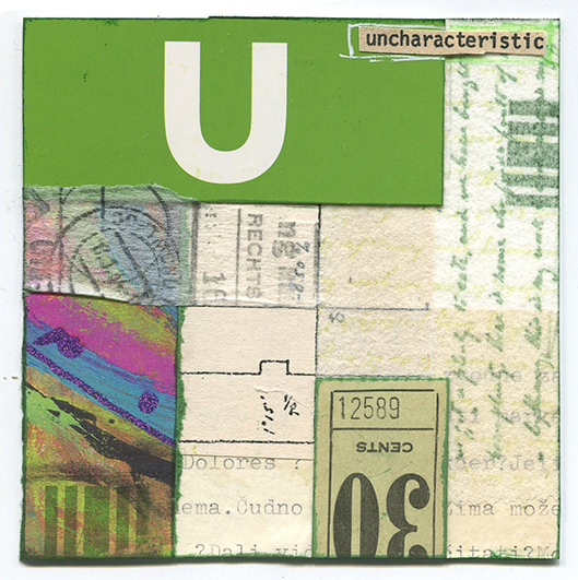 Uncharacteristic by Pamela Towns