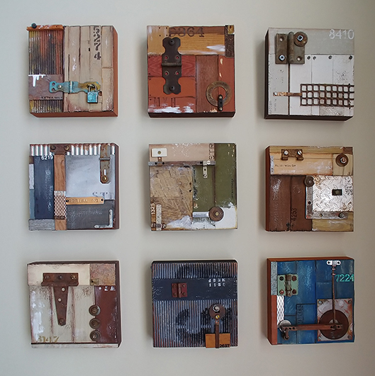 Constructed Artist Series by Pamela Towns