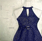Polka-Dotted Knockoff by Pamela Towns
