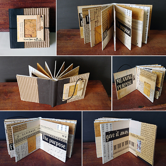 Meaning & Purpose Artist Book by Pamela Towns
