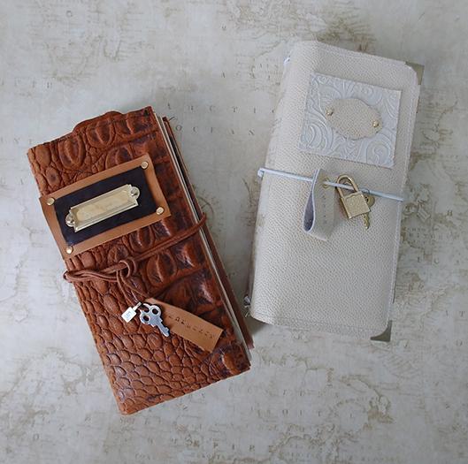 Handmade Travel Journals by Pamela Towns